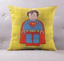 Superhero square digital Printed Cushions