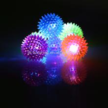 LED glow dog ball pet toy