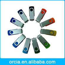 USB 2.0 Memory Stick Thumb Swivel Folding Flash Drive Pen 100% real capacity