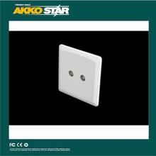 tv satellite wall socket,2 pin socket,2 TV SOCKET