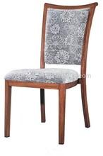 Youkexuan aluminium imitation wood banquet chair HC9096