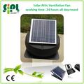 الطاقة الشمسية لوحة خضراء بدعم 14 بوصة دوران الهواء مروحة المنزل نظام 35 واط مع البطارية