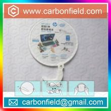 20cm frisbee fan with plastic handle