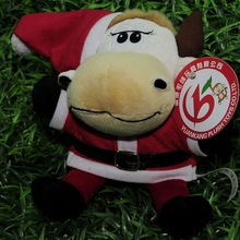 2015 Hot sell plush musical christmas toy