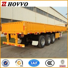 Manufactuer HOVVO FUWA 3 Axles Cargo Trailer Transportation