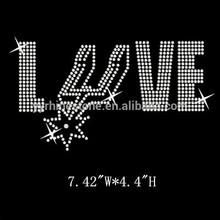 Sport Basketball Team Hotfix Motif Love Spurs Rhinestone Transfer