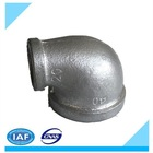 Electric Galvanized Malleable Iron Pipe Fitting 90 degree reducing elbow