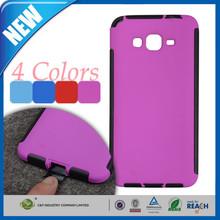 C&T Hybrid TPU Silicone Soft + PC Hard Plastic Bumper Back Protective Skin Case For Samsung Galaxy Alpha A3