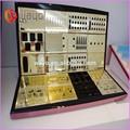 Acrílico cosméticos góndolas/mostradores/expositores/maquillaje mac soporte de exhibición cosmético