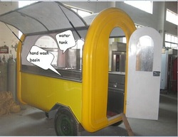 Outdoor food trailer fast food trailer mobile food trailer Approved ISO , CE