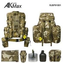 "Desert Camo Pattern 90"" P.L.C.E Military Backpack Wild Life Service Equiipment"