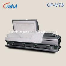 Cheap Steel Casket Frank Sliver (CF-M73)