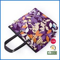 Canvas handbag custom printing sublimation bag