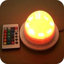 16 colors remote control Led light table decoration