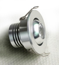 3w dimmable led puck light/high end led housing cabinet/mini cabin light