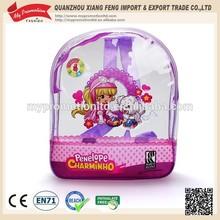 2015 Kids school zip lock pvc bag