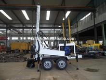 HF150T 150m 45kw dia. 90-220mm Hammer Borehole Drilling Machine