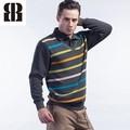 Bemme tarja de manga comprida personalizado blusas de tricô modelos