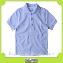 custom reactive dyeing cotton fashion short sleeve kids polo t shirt