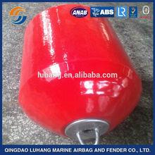EVA solid rubber fender/ foam filled EVA +PU coating fender