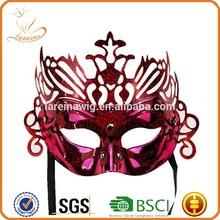 fabbrica nuovo progettista colore solido mezza faccia corona di tipo festa di compleanno Ichigo maschera vuota