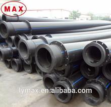 Hot sale SDR26 SDR21 hdpe pipe high density polyethylene tube for marine dredging