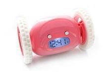 Creative digital alarm clock , The car shaped alarm clock , Lazy's enemy running alarm clock