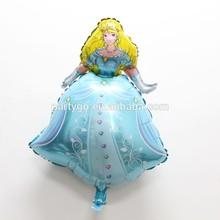 New Beautiful Princess Balloons Aluminum Foil Cartoon Balloons Baby Toys Birthday /Party Favors
