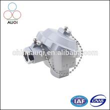 PT100 Aluminium Water- proof RTD Head or K/T/N/E/R/S/B Type Thermocouple Head