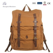 Men's Vintage Canvas Backpack Rucksack school bag Satchel Hiking bag
