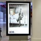 outdoor advertising signboard light box solar power advertising display