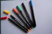 Chinese Washable fabric marker, colourful inks for DIY drawing easily washed off, new year gift for 2015 # WM20