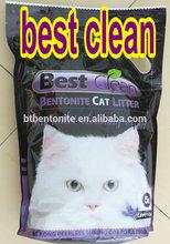 best clean bentonite kitty sand with lavender flavor