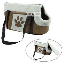 Soft plush pet bag pet carrier