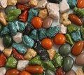 alta qualidade de pedra em forma de chocolate na massa
