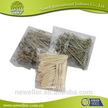 2014 Hot Selling decorative ps party picks bulk bamboo