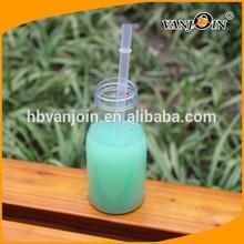 Supply Plastic Pet Clear / Transparent Beverage Fruit Juice Bottle 8oz,12oz,16oz