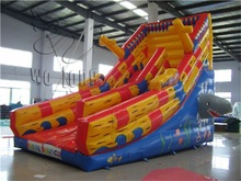 Fashionable new products large inflatable slide combo