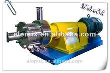 High shear emulsion pump homogenizing emulsifier
