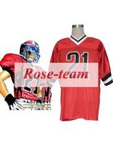 Roseeam Made Eyeshield21 Kobayakawa Sena American Football Team Uniform Cosplay Costume