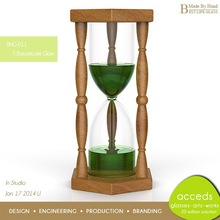 Unique Wholesale Custom Design Home Decoration 4 Hours Hourglass Sand Timer