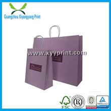 Recycle Wholesale Popular Paper Gift Bag Print Logo