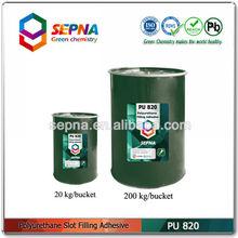 Construction joints sealing / slot filling adhesive pu820