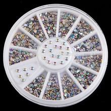 New design plastic nail art decoration glitter