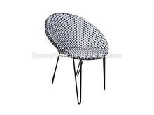 Güzel dokuma ferforje bahçe masa ve sandalyeler lg90-dc-806-2