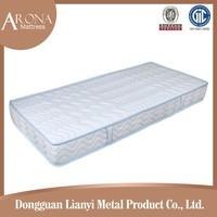 Fire retardant single royal coil cheap mattress/vacuum compress mattress