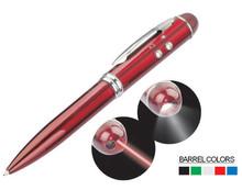 ball point pen,led laser metal pen
