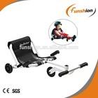 3 wheel scooter go kart /pedal trike scooter /Wave roller