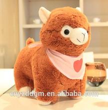 plush grass mud horse/popular stuffed soft alpaca