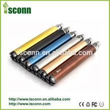 2014 Alibaba.com Best Design MUV Huge Capacity 1600mah Ego USB VV best vape pen for wax Colored Smoke E Hookah